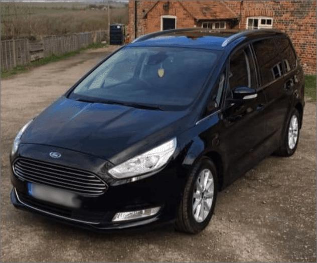 Vehicle fleet - Ford Galaxy